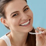 KFO Leistung unauffällige Zahnschienen